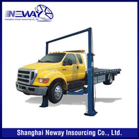 Used 2 post hydraulic car lift vehicle lifts for sale