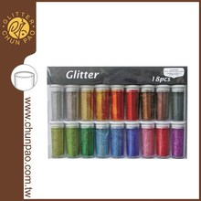Non-toxic Holographi Glitter Powder and Flitter Set GP1A-9018-B for body glitter nail art crafts