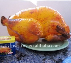 advertising inflatable turkey for display