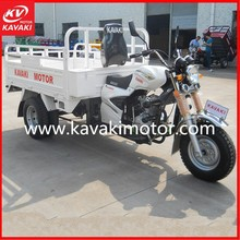 2015 Popular Three wheel motorcycle Cargo tricycle 200cc air cooled engines with reasonable price