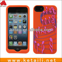 2013 Customized silicone phone case for iphone 5/Paypal accept