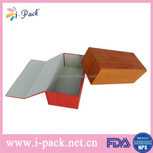 hot sell multi color options folding factory price pu leather handmade luxury glasses case