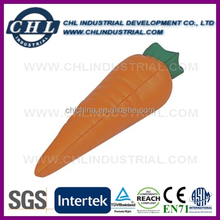 Promotional anti PU stress carrot