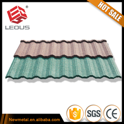 colorfu sotne coated aluminum metal roofing in Guangdong China