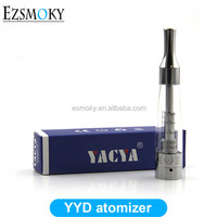 YACYA YYD Tank 100% original Design Advanced Bottom Coil Rebuildable Atomizer YYD Fit For EVOD Battery Wickless BDC Atomizer