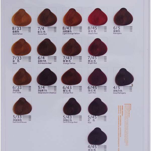 Gmpc Iso Certification Permanent Type Fruit Hair Color
