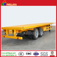 Carry goods platform trailer transport /vehicle with 2/3/4 Axle