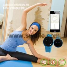 2015 new product brand bluetooth smart bracelet,bluetooth smart wristband,smart band with pedometer function