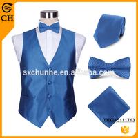 Customized design waistcoat set decorated suit