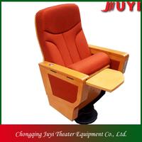 JY-999M Cinema chair theatre chairs for sports authority silla de plegable