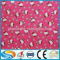 hot venda impressão tecido de flanela para bebê cobertor