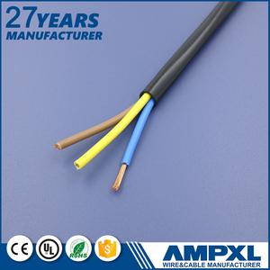 النحاس عالية الجودة الأساسية 2 2.5 ملم الأسلاك الكهربائية كابلات كهرباء