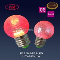 e27 b22 g40 g45 led bulb net shape christmas lights