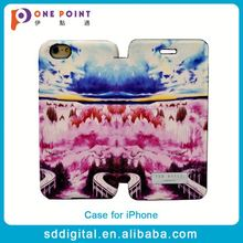 New Arrival full protect pu leather flip mobile cell phone covers case for iphone 6
