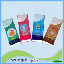 Popular new designed kids pp plastic pencil case /cute pp pencil case suppliers and manufactures