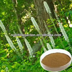 ISO&Kosher 2.5%-8% triterpene glycosides black cohosh extract
