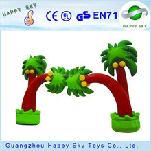 HS!-2015 Best selling inflatable palm tree/inflatable signs/arch for advertising