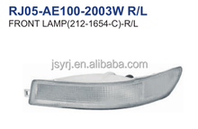 front lamp R/L for toyota corolla ae100-101 white