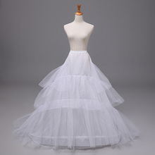 2015 Hot Sale Long White Bridal Wedding petticoat 8806