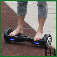 Best smart mini 6.5inch two wheel electric stunt scooter,intelligent self-balancing Intelligent vehicle G17A101- black