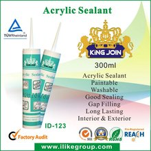 Construction adhesive Acrylic Sealant (Reach, SGS, TUV)