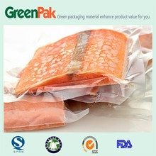 PA/PE Plastic vacuum packaging bag for fish
