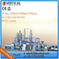 VTS-DP Water Cooling System Vacuum Distillation Unit Waste Oil Vacuum Distillation Unit