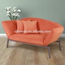 chaise lounge two seat half moon shape sofa B73