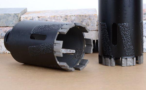 Laser Welded diamond core drill bit for stone