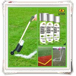 Autokem best seller field marking paint, athletic field marker, organic lawn paint, traffic/line/road/spot/survey marking paint