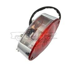 BJ-LPL-023Wholesale chrome ABS plastic 12V bulb brake light motorcycle for scooter KTM
