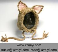 Floppy Ears hat cat ear knitted hat knit animal cat hat