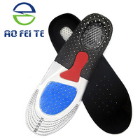 Best Selling Products in American Breathable Silica Gel Insoles for women, Sport workout Silicone Insoles Foot Massage