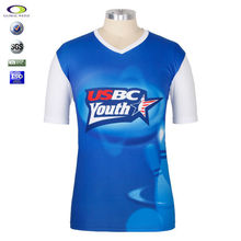 Cheap Custom 100 polyester sublimated tee shirts