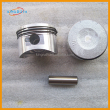 Jialing engine parts GY6 125cc Piston and piston ring fit for motorcycle