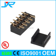 High quality custom connector 10pin surface mount dual row SMT female header connector
