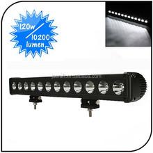 120W LED LIGHT BAR SPOT FLOOD COMBO BEAM 4WD offroad DRIVING CAR WORK LIGHT LED 12V
