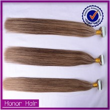 Promotion now!!! Alibaba gold supplier wholesale peruvian virgin hair,2015 most popular peruvian tape hair extension