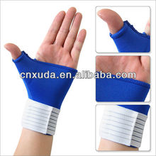 Elastic Thumb Wrap Wrist Palm Splint Supports Sport Gloves Elastic Brace Gym
