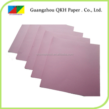 China wholesale websites professional where to buy colored printer paper with Pulp dyed