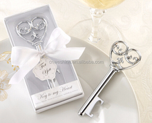 Personalized Victorian-Style Heart Bottle Opener India Wedding Gifts For Guests