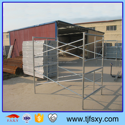 Layher Frame Scaffolding With High Strength And Safety