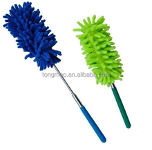 Telescopic Flexiable Head Washable Long Handheld Microfibre Cleaning Duster