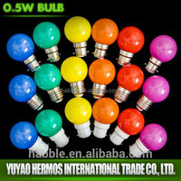 1w color changing bubble lamp