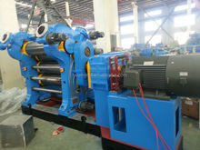 rubber calender machine 3 rolls / two roll / four roll calender for conveyor belt making