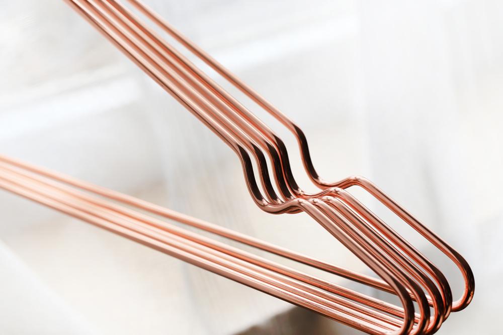 Wholesale Wholesale Beauty Metal Wire Clothes Hanger Shirt