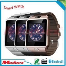 Bluetooth DZ09 1.56 inch SIM Card digital android smartwatch men women sport wristwatch for sony/samsung/lg/iphone/moto phone