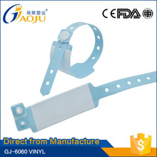 Direct from professional manufacturer Cheap price best quality medical id band supplier
