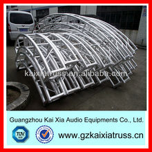 300x300mm Aluminum Circle / Curved Truss