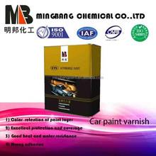 Alto brilho verniz para 1 k auto repintura automotivo camada de base